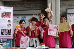 大丸神戸店とコラボで「気軽にできる備え」を発信<br>女性視点で活動する神戸学院大学「防災女子」