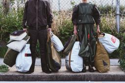 廃棄テントが世界に1つのバッグに!コールマンのプロジェクト「MFYR」